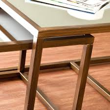Coffee Table: Coffee Table With Nesting Stool. Coffee Table With pertaining  to Coffee Tables