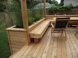 Small Picture Got a deck Built in a planter Growing Things Pinterest