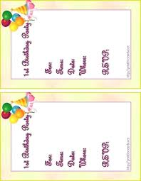 Printable Invitation Cards Templates Download Them Or Print