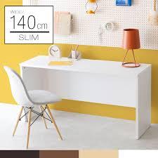 Image Drawer Office Desk Computer Desk 140 Cm Width 45 Cm Wooden Office Furniture Flat Desk Slim Desk Desk Desk Wood Computer Desk Flat Desk Learning Desk Pc Desk Rakuten Sumica Office Desk Computer Desk 140 Cm Width 45 Cm Wooden Office