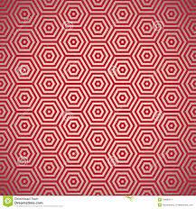 Retro De Jaren 70 Rood Patroon Vector Illustratie Illustratie