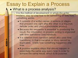 an introduction compiled by shelia d sutton ma nbct ppt  63 essay to explain a process