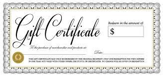 Gift Certifcate Rome Fontanacountryinn Com