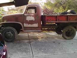 project truck 1942 Chevrolet G506 military for sale