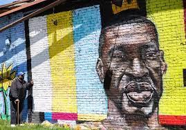 bigger better' George Floyd mural after ...