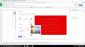 Change Background Colour Of Graph Google Sheets Video 28
