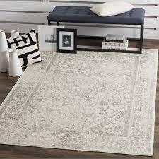 11 x 15 area rug safavieh adirondack vintage distressed ivory silver area rug