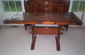 nautical office furniture. Nautical Table From Restore WWII Liberty Ship Hatch Cover Office Furniture