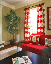Curtains Black And Red Curtains For Living Room Decor 25 Best Red Curtain Ideas For Living Room