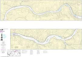 Noaa Nautical Chart 18547 Snake River Lake Bryon