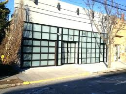 walkthru garage doors residential garage doors how much do walk through garage doors cost