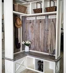 Corner Entry Bench Coat Rack 100 Best Entry Way Tutorials Images On Pinterest Wood Projects 14