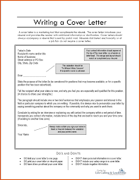 Email To Accompany Resume And Cover Letter how to write cover letter moa format 60