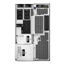apc smart ups srt 10kva 230v srt10kxli critical power supplies apc srt 10kva ups rear