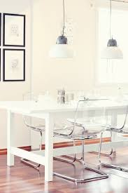 office space with lucite chairs