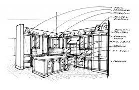 interior design sketches kitchen. Kitchen Design Sketch Interior Best Style Sketches T