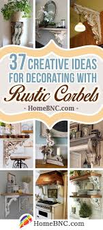 Decorative Corbels Interior Design Delectable 32 Creative Ideas For Decorating With Rustic Corbels Decoration