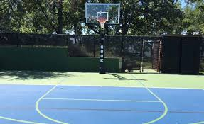basketball court construction and services