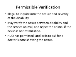Service Animal Doctors Note Service Animal In Housing Sol Kim U S Department Of Housing And