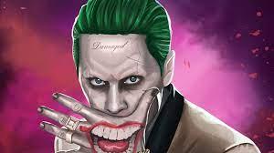 1366x768 Joker Suicide Squad Artwork HD ...