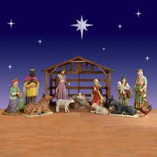 life size nativity