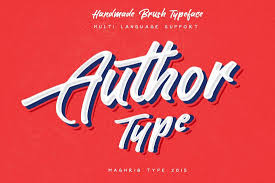 author is a beautiful brush type hand lettering font that es with a modern design it features both uppercase and lowercase letters to help you use the