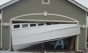 when a garage door panel gets damaged you are able to replace just one of