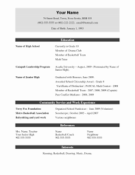 Resume Template Resume Format Doc Free Resume Template Format To