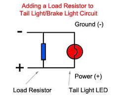 bmw led load resistor webbikeworld load resistor in circuit