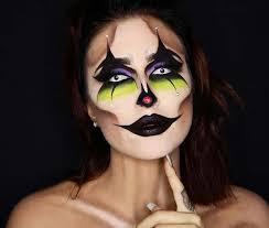 creepy clown makeup for