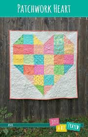 8 Scrap-Friendly Modern Baby Quilts & Patchwork Heart Baby Quilt Pattern Adamdwight.com