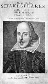 william shakespeare facts life plays com title page of the first folio the first published edition 1623 of the