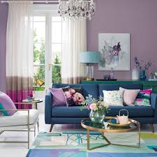 purple living room ideas that are easy to live with