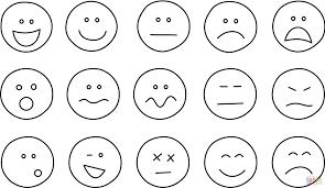 Disegno Di Set Di Emoji Da Colorare Disegni Da Colorare E Stampare