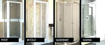 types of shower doors types of shower doors diffe to choose from glass used kinds 5 types of shower doors shower door glass