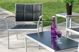 PatioPost 2Pack Outdoor Iron Sling Teslin Mesh Fabric Folding Outdoor Sling Furniture