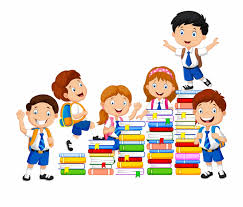 Book Clip Art Students Clipart Png Stack Of Books Png
