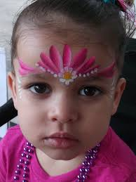simple face paint could be used to the younger ones x