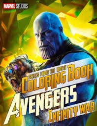 Marvel Avengers Infinity War Coloring Book Great Scenes From The