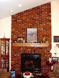 removing fireplace mantel remove brick fireplace brick veneer fireplace brick facade fireplace my husband loves our