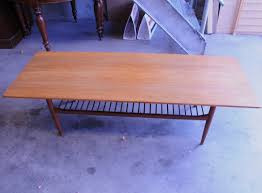 retro teak coffee table