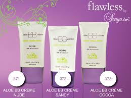aloe bb creme with spf 20 was created exclusively for flawless by sonya to hydrate makeup foreversun