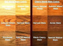 Walnut Wood Stain Color Chart Wood Color Stain Caypro Com Co