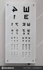 Photography Test Chart Optometrist Eye Test Chart Stock Editorial Photo Milinz