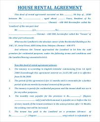 One more rental agreement form in the form of questionnaire to quickly guide you in preparing a professional agreement. Free 19 Sample House Rental Agreement Templates In Pdf Ms Word Google Docs Pages