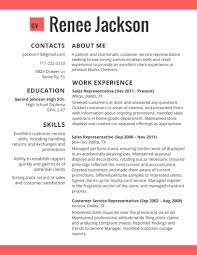 Current Resume Formats Perfect Resume