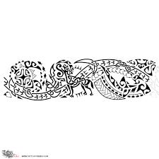 Tatuaggio Di Poly Celtic Lupo E Fuoco Tattoo Custom Tattoo