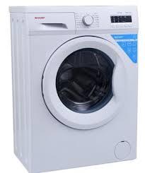 sharp washing machine 6kg. sharp white 6kg washing machine, es-fa6102w2 machine