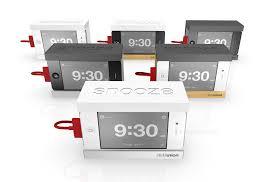 Snooze iPhone Alarm DockDistil Union Snooze iPhone Alarm Clock Dock Stand