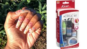 plete salon acrylic nail kit for
